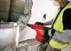 Демонтаж стен из бетона