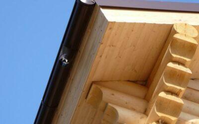 Изготовление и монтаж карнизной коробки (дерево)