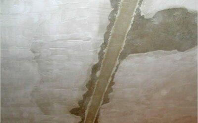 Расшивка потолочных швов