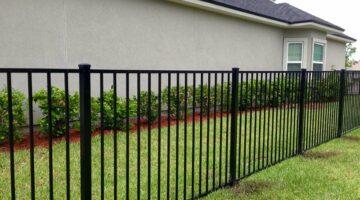 Сварной забор из профильной трубы (профтрубы)